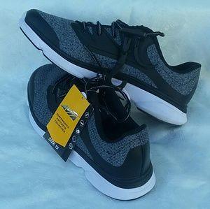 Avia Mens Athletic Shoes Sz 12 NWT Grey Black